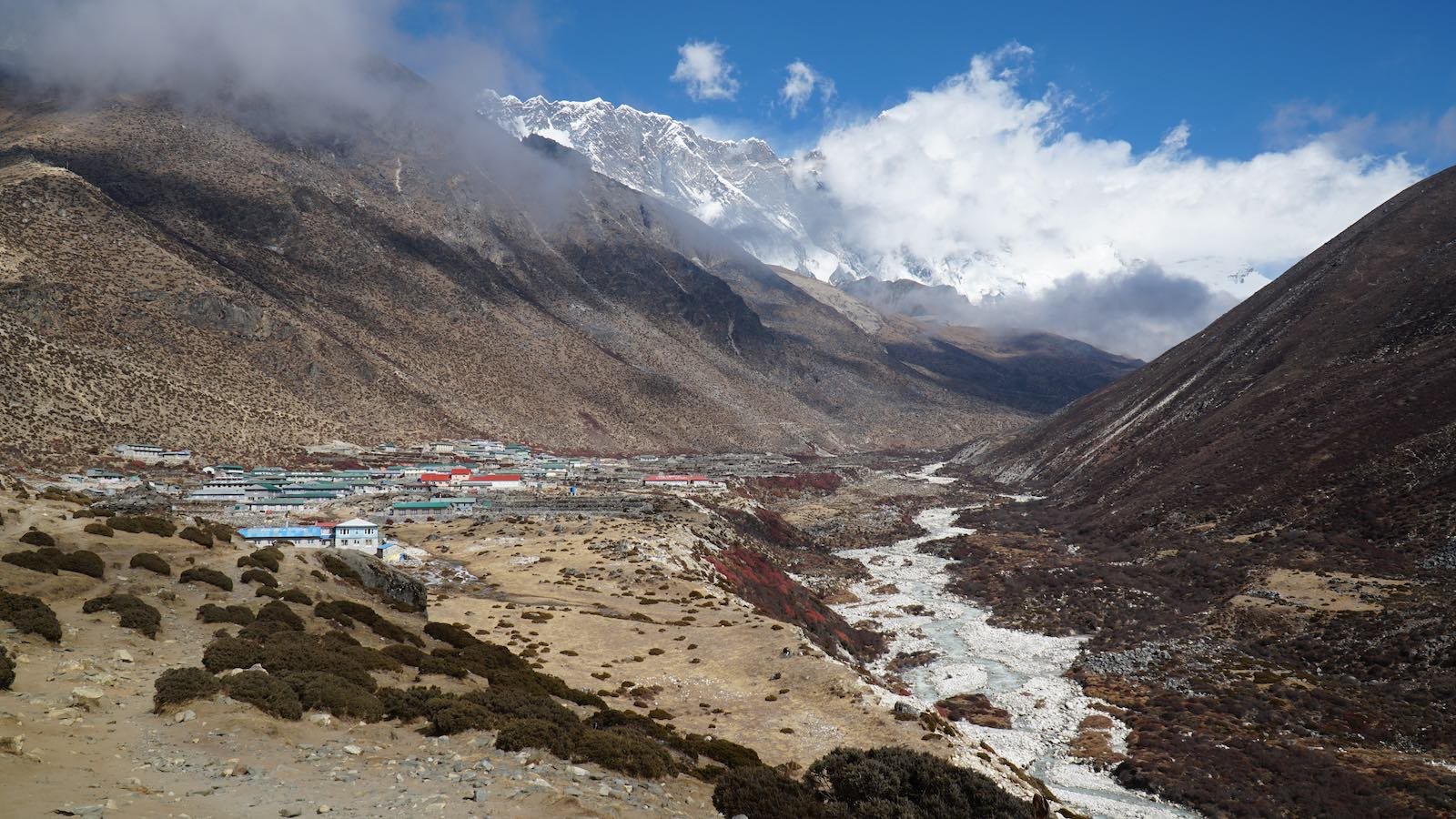 The village of Dingboche