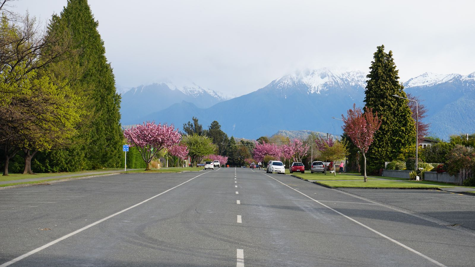 Does not have to be as pretty as this road in southern New Zealand.