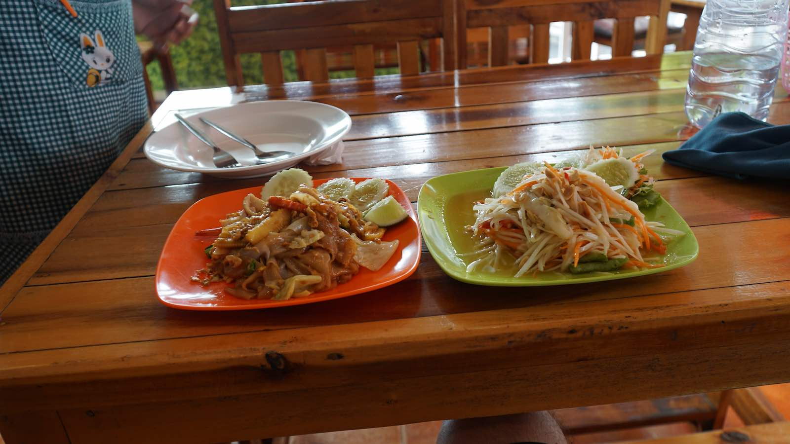 Aside from the beach I spent most of my time in Krabi resting in my hostel and eating pad thais, papaya salads, and mango sticky rice.