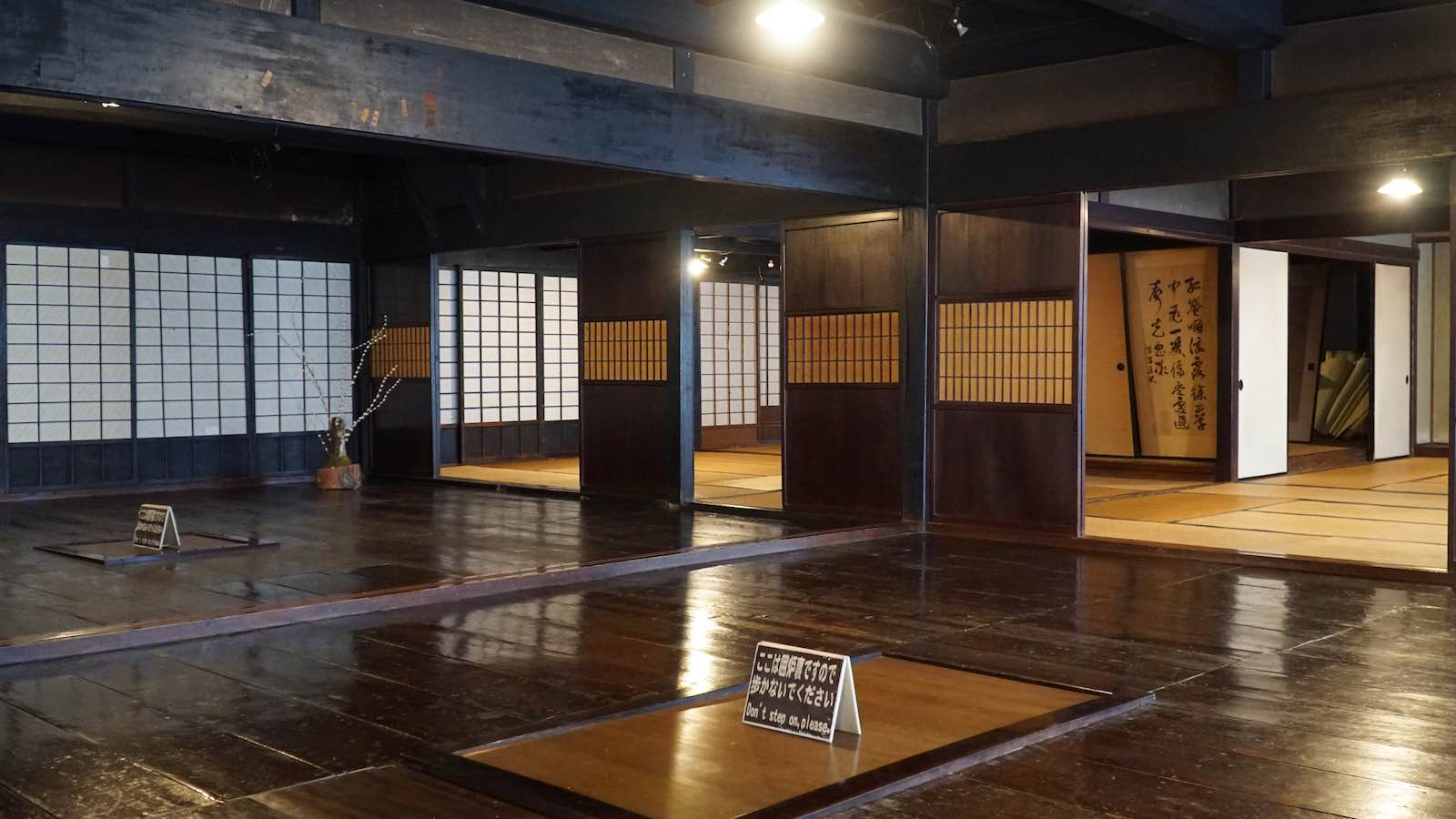 The hostel I stayed at, which was a very traditional Japanese home, was for whatever reason blasting American country music (the kind where they're singing about their trucks and not the Taylor Swift kind) in the living room. I didn't take a photo of place, but it looked like this.